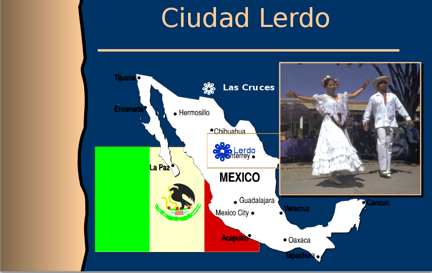 Map OF Lerdo